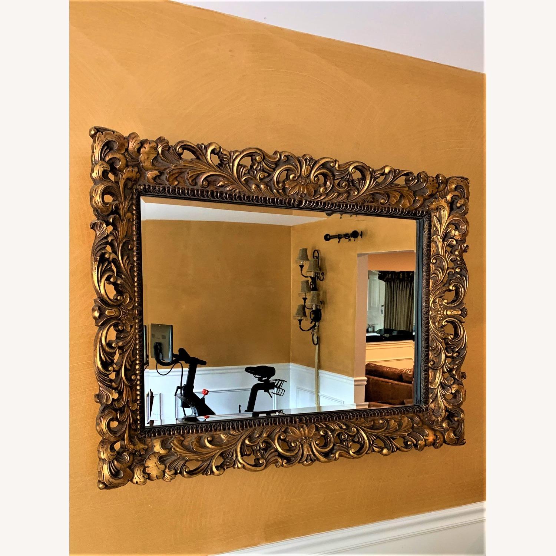 Gold Ornate Mirror - image-3