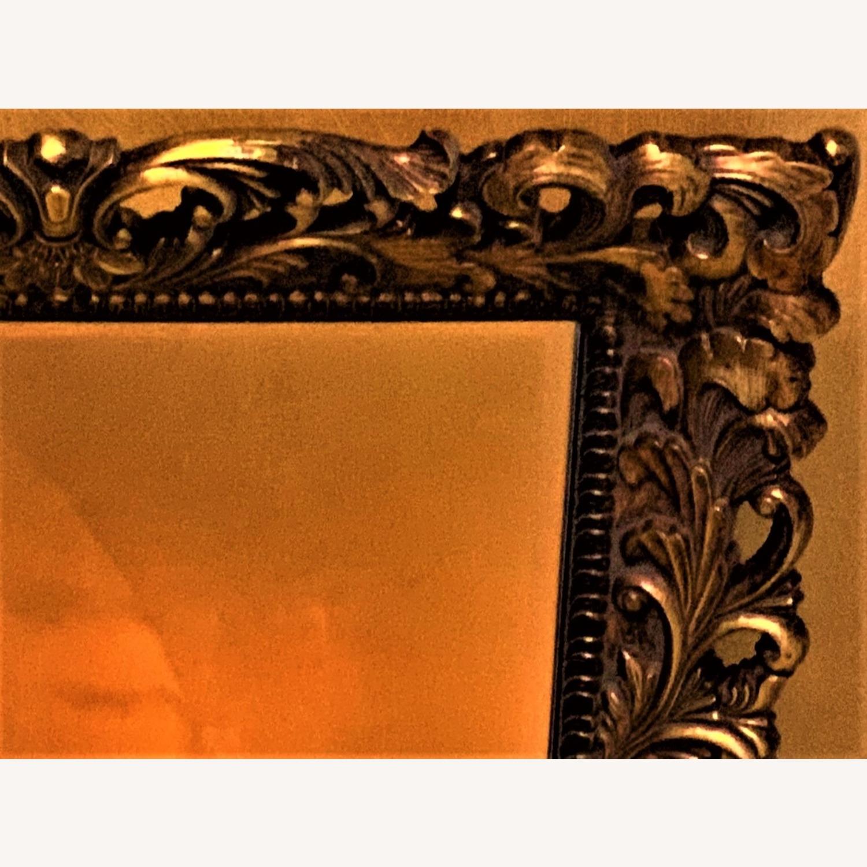 Gold Ornate Mirror - image-2