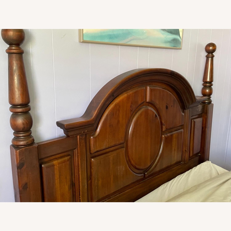 Large Wooden Headboard - image-2