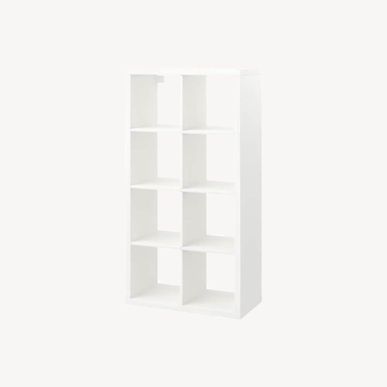 IKEA Kallax Bookshelves White - image-0