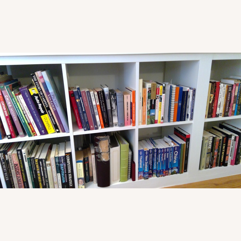 IKEA Kallax Bookshelves White - image-2