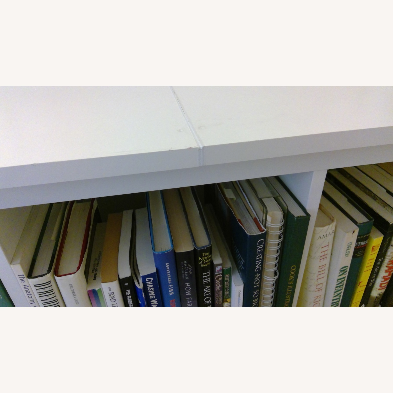 IKEA Kallax Bookshelves White - image-4