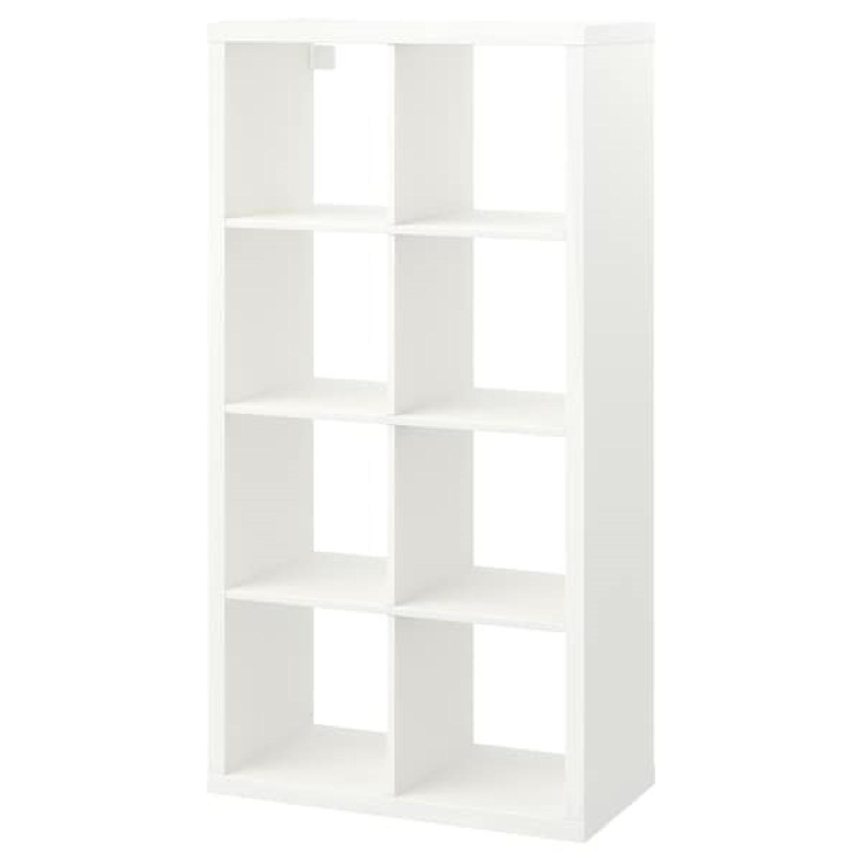 IKEA Kallax Bookshelves White - image-1