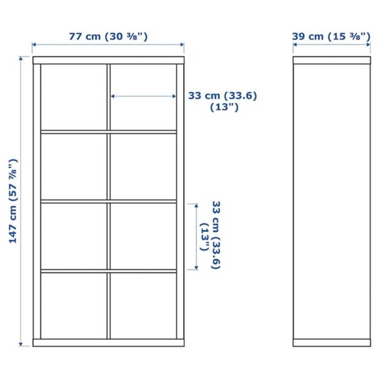 IKEA Kallax Bookshelves White - image-7