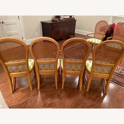 Used Thomasville Cane Back Dining Chairs for sale on AptDeco