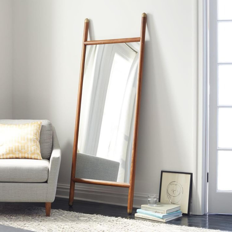 West Elm Mid-Century Dowel Floor Mirror - image-1