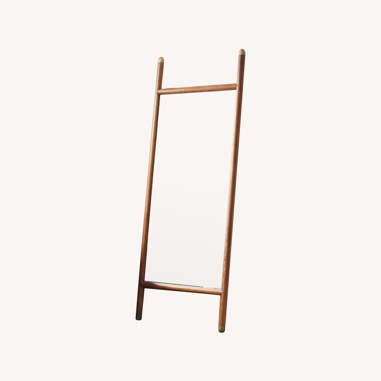 West Elm Mid-Century Dowel Floor Mirror - image-0