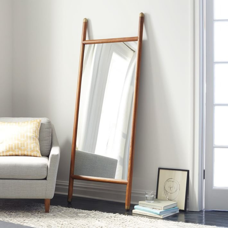 West Elm Mid-Century Dowel Floor Mirror - image-3