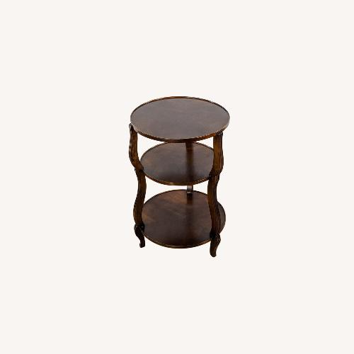 Used Hickory Chair Company Three-Tiered Accent Table for sale on AptDeco