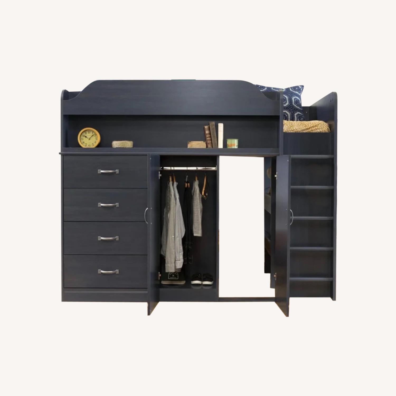 Wayfair Bunkbed w/ Hideout/Desk/Dresser - image-0