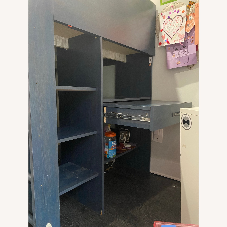 Wayfair Bunkbed w/ Hideout/Desk/Dresser - image-8