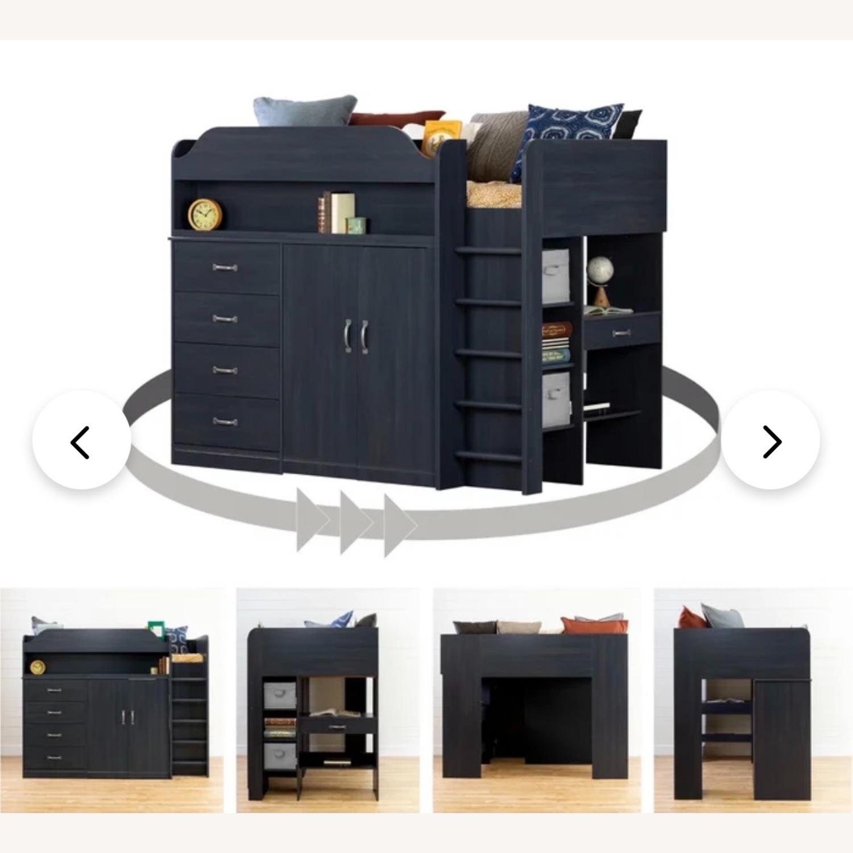 Wayfair Bunkbed w/ Hideout/Desk/Dresser - image-5