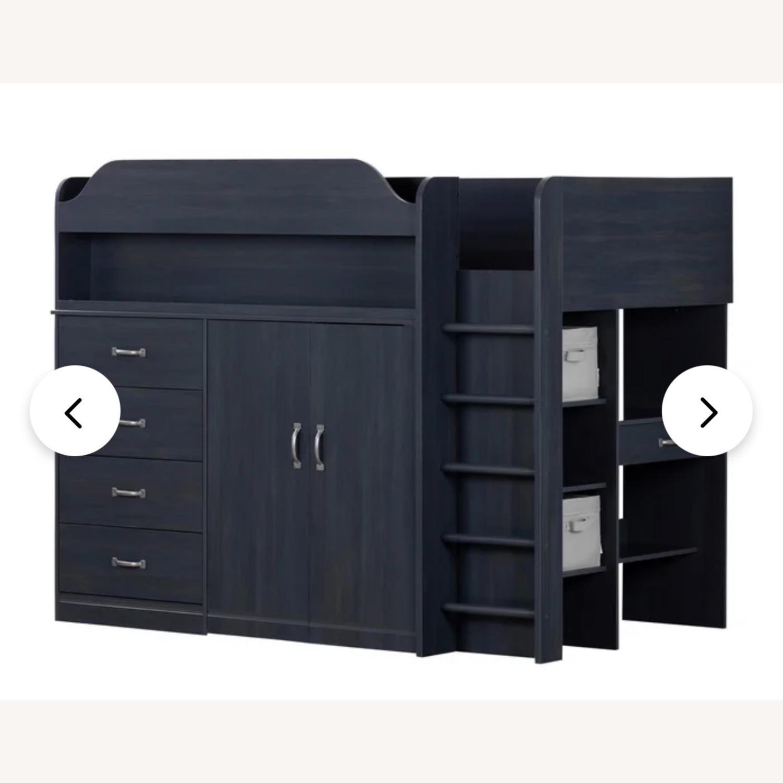 Wayfair Bunkbed w/ Hideout/Desk/Dresser - image-3