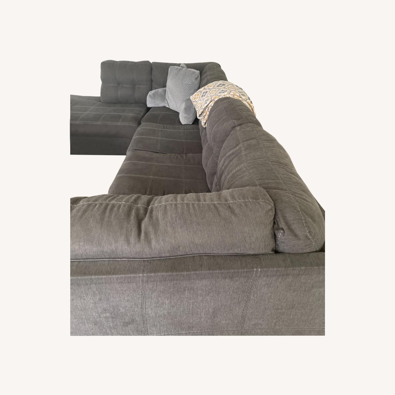 Sectional Sofa with Sleeper - image-0