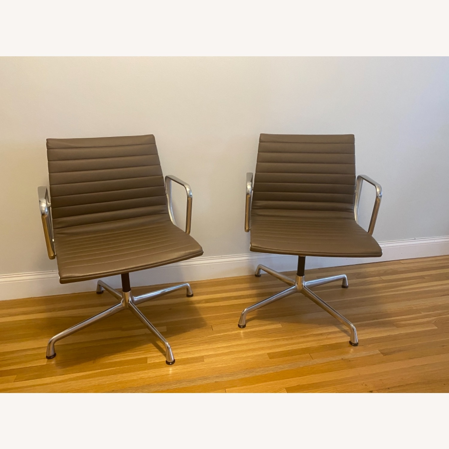 Herman Miller Eames Arm Side Chairs - image-1