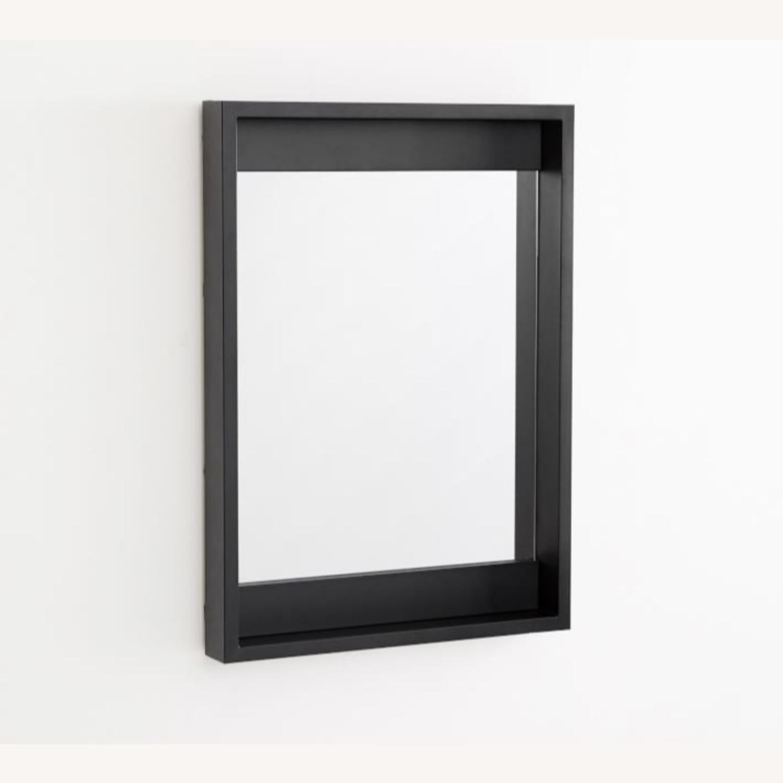 Pottery Barn Malibu Outdoor Mirror, Black - image-2