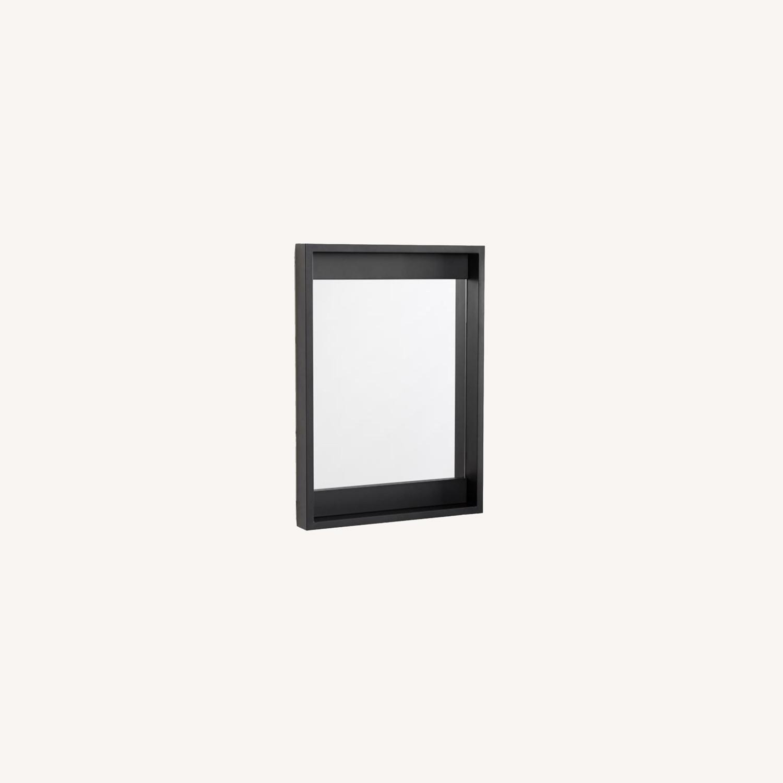 Pottery Barn Malibu Outdoor Mirror, Black - image-0