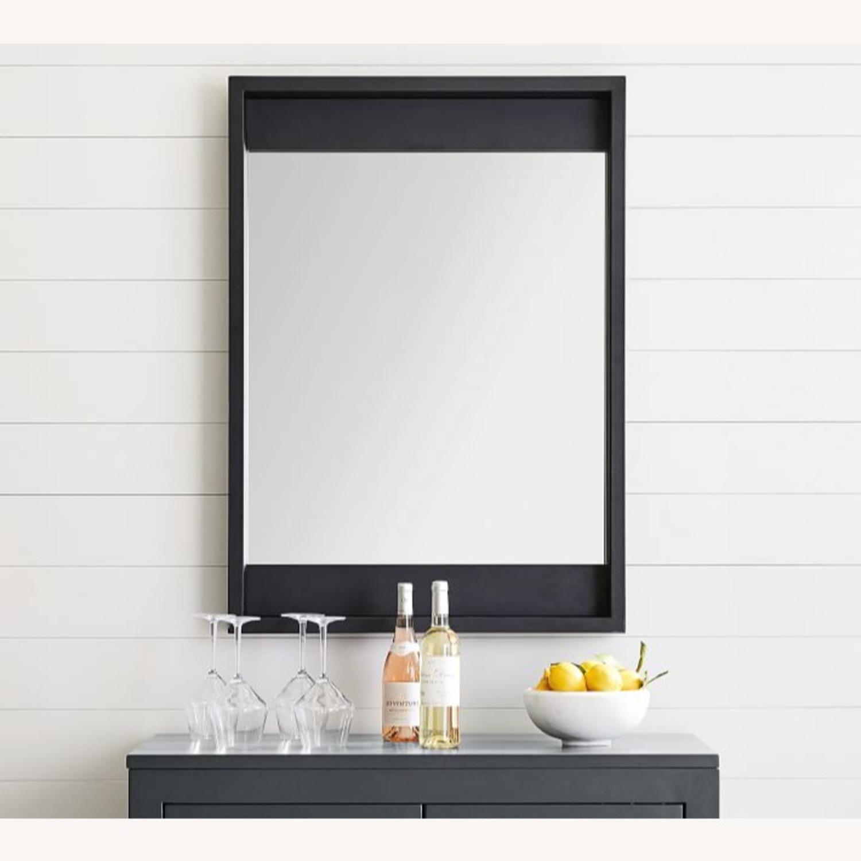 Pottery Barn Malibu Outdoor Mirror, Black - image-1