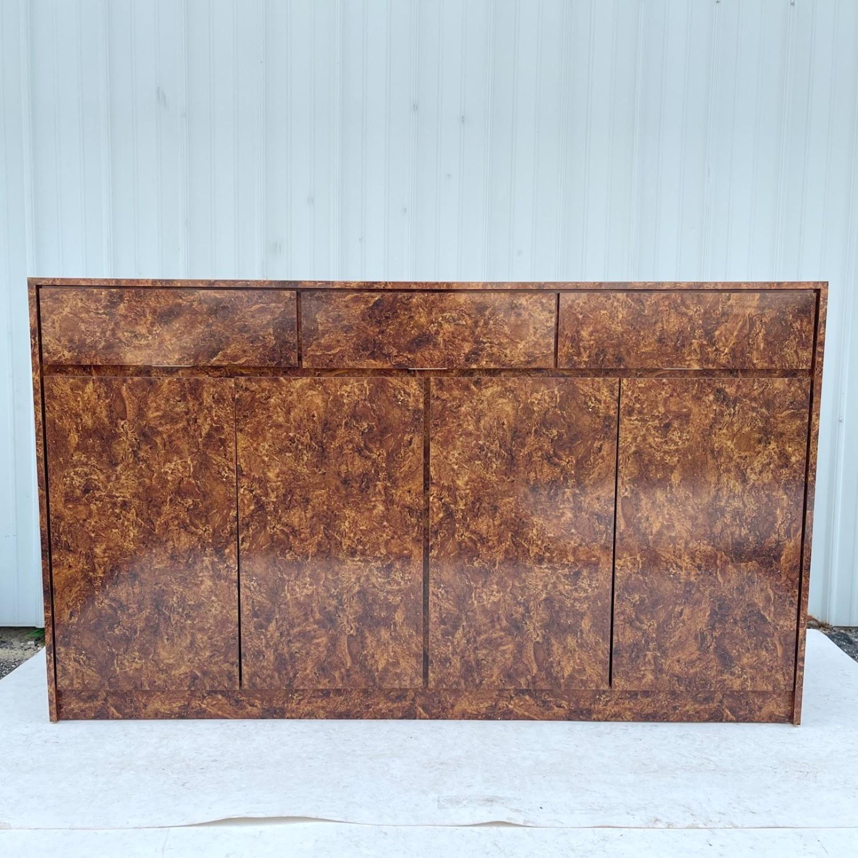 Vintage Modern Burl Front Sideboard - image-15