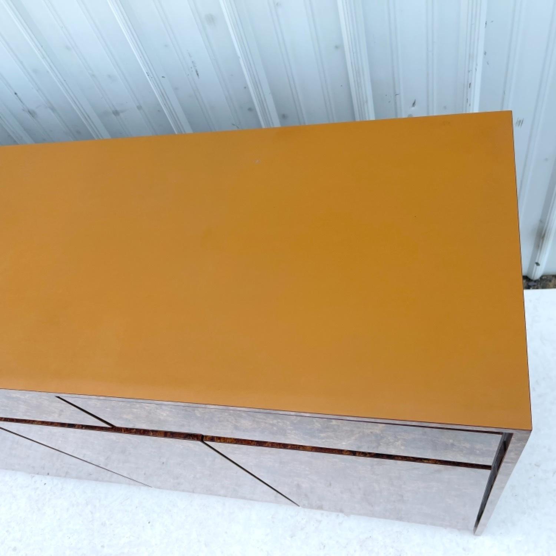 Vintage Modern Burl Front Sideboard - image-10