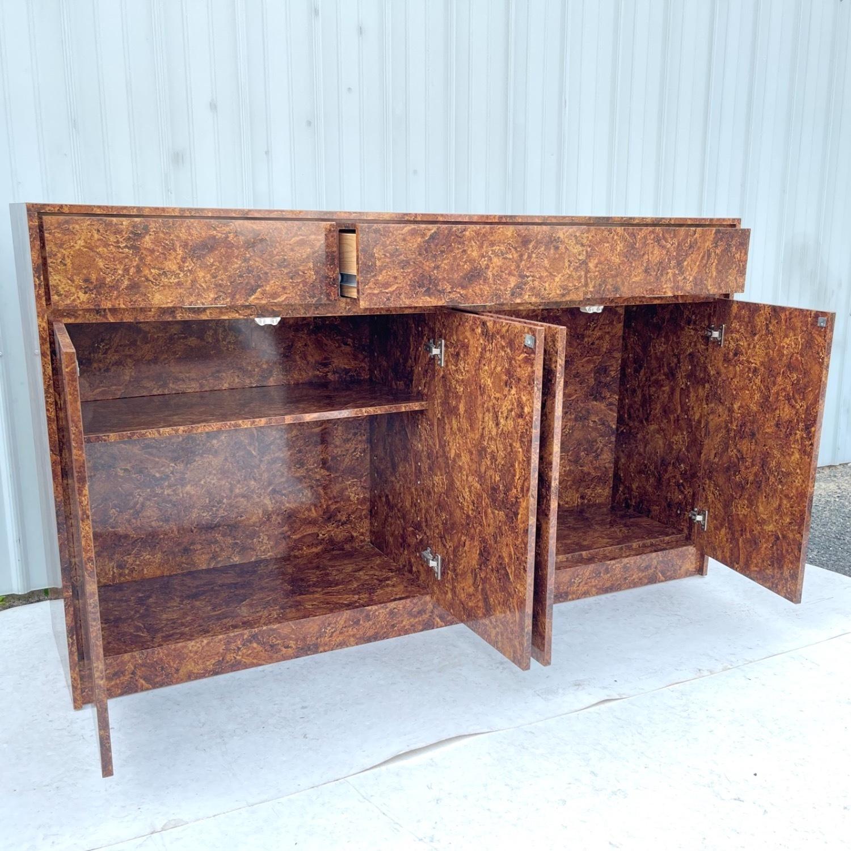 Vintage Modern Burl Front Sideboard - image-5