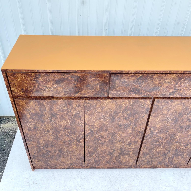 Vintage Modern Burl Front Sideboard - image-13