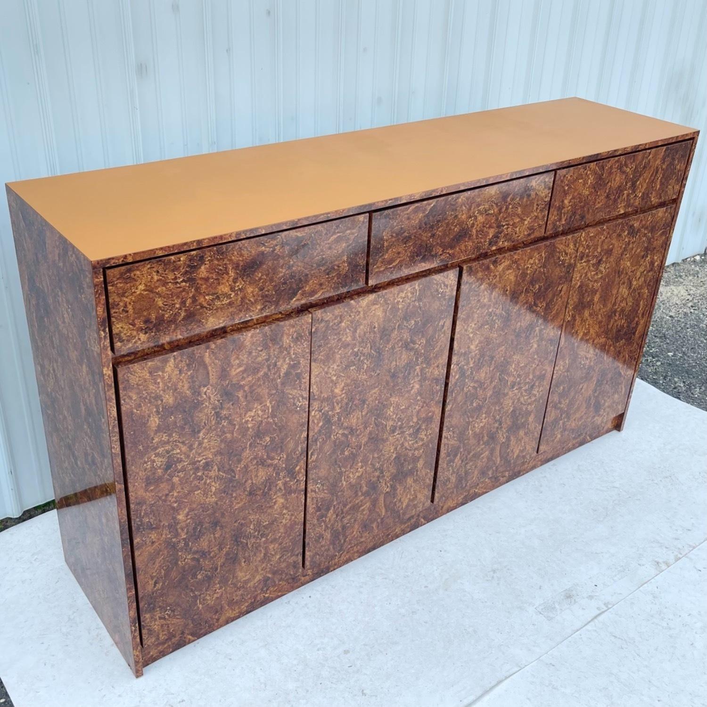 Vintage Modern Burl Front Sideboard - image-3