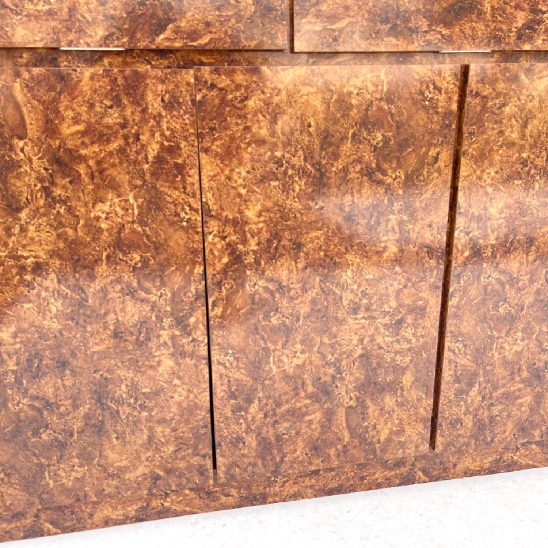 Vintage Modern Burl Front Sideboard - image-22