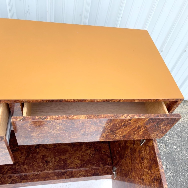 Vintage Modern Burl Front Sideboard - image-17