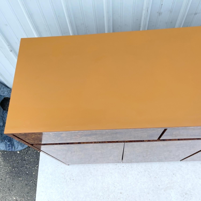 Vintage Modern Burl Front Sideboard - image-8