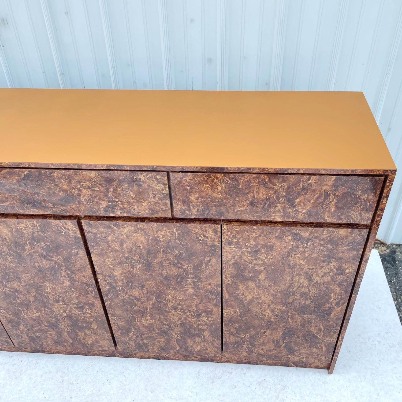 Vintage Modern Burl Front Sideboard - image-14
