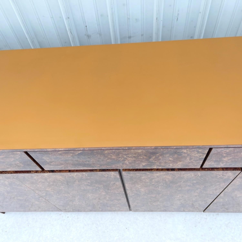 Vintage Modern Burl Front Sideboard - image-9