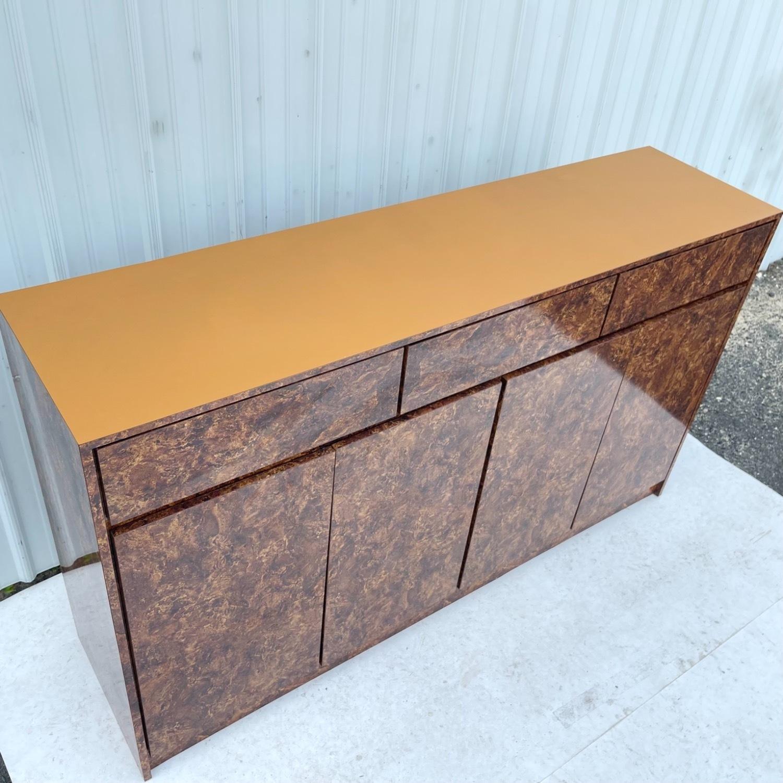 Vintage Modern Burl Front Sideboard - image-6