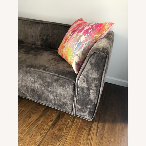 Used ABC Carpet and Home Velvet Couch for sale on AptDeco