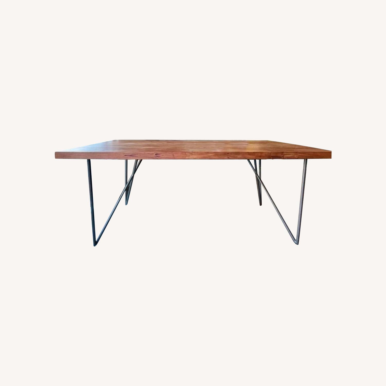 CB2 Dylan Medium Acacia Dining Table - image-0