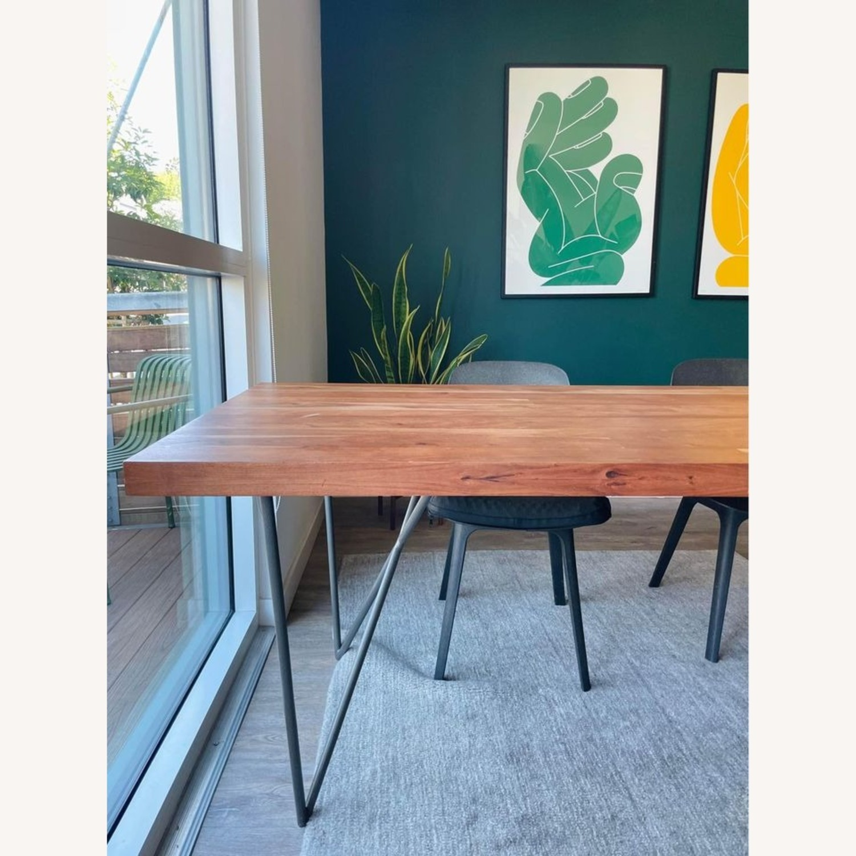 CB2 Dylan Medium Acacia Dining Table - image-2