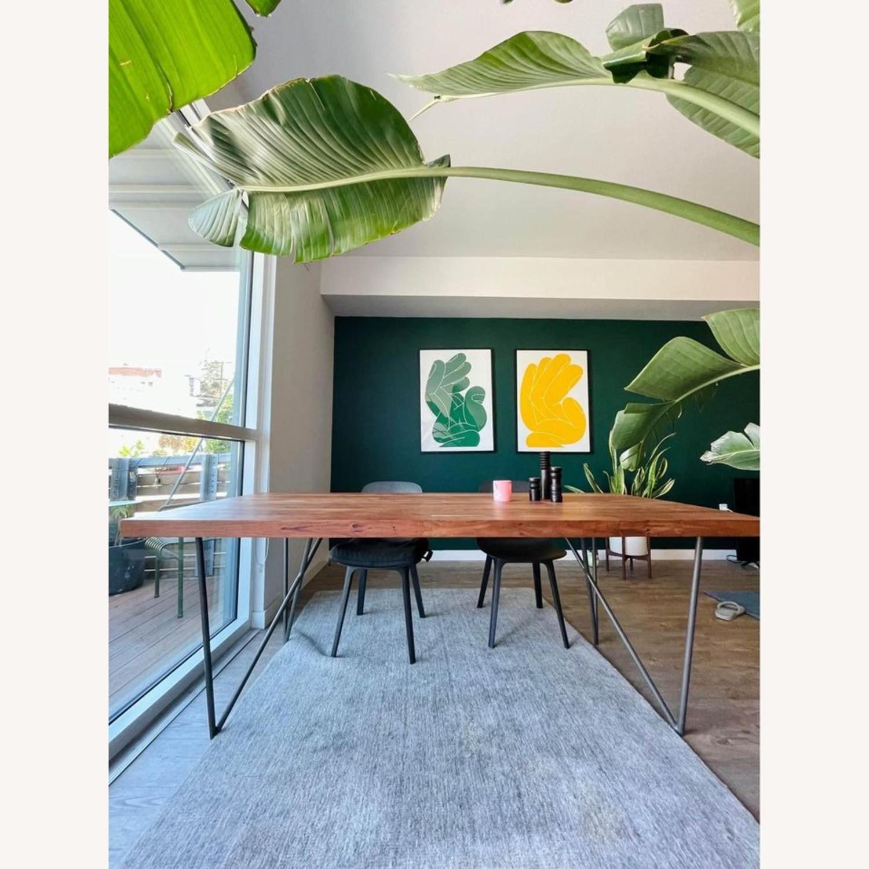 CB2 Dylan Medium Acacia Dining Table - image-1