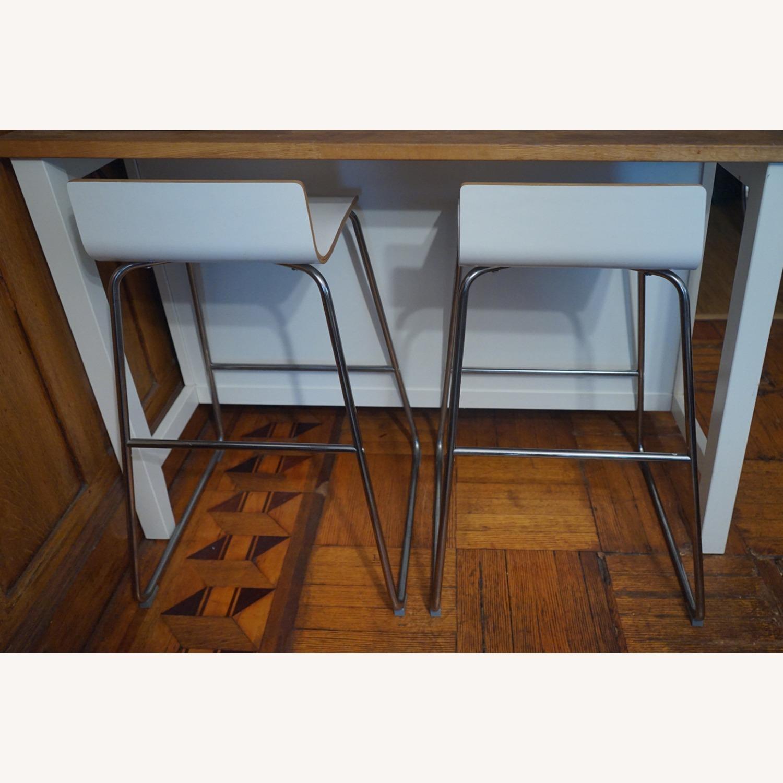 IKEA 2 Counter Stools - image-1