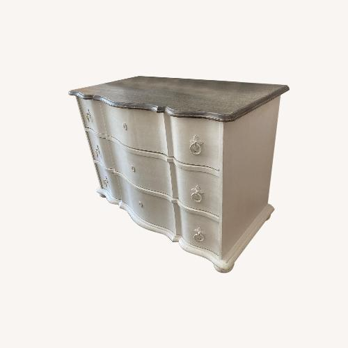 Used Wisteria Serpentine Front Chest of Drawers for sale on AptDeco