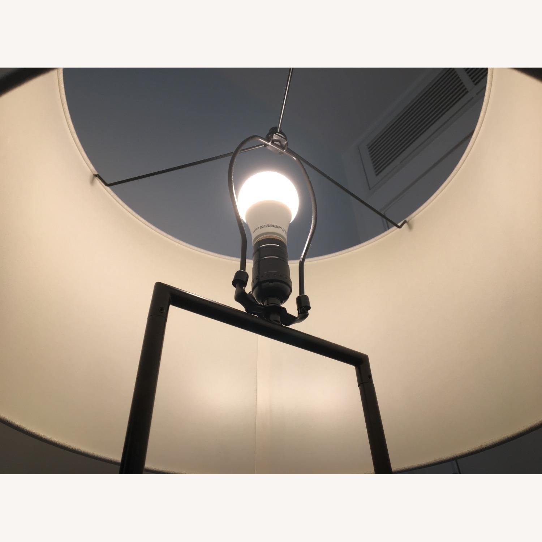 West Elm Industrial Outline Floor Lamp - Concrete - image-6