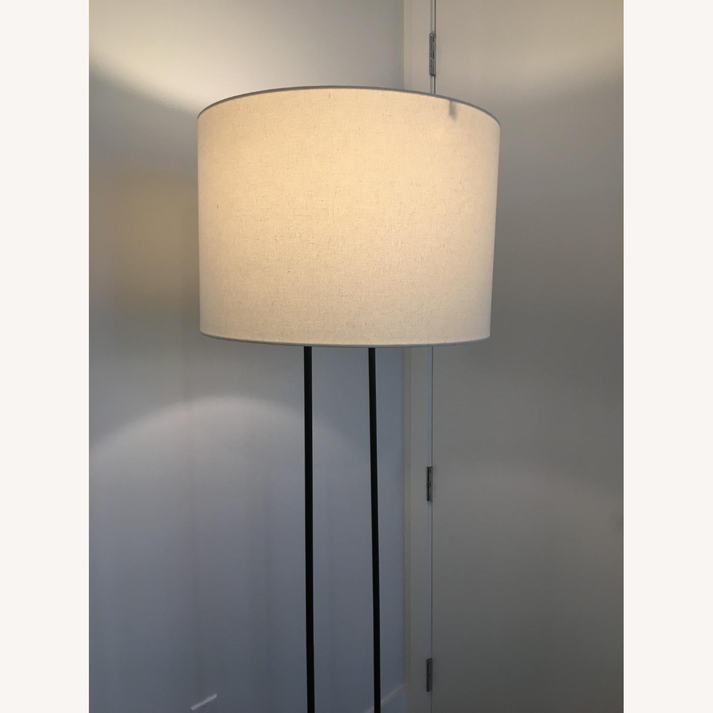 West Elm Industrial Outline Floor Lamp - Concrete - image-3