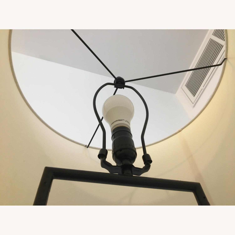 West Elm Industrial Outline Floor Lamp - Concrete - image-7