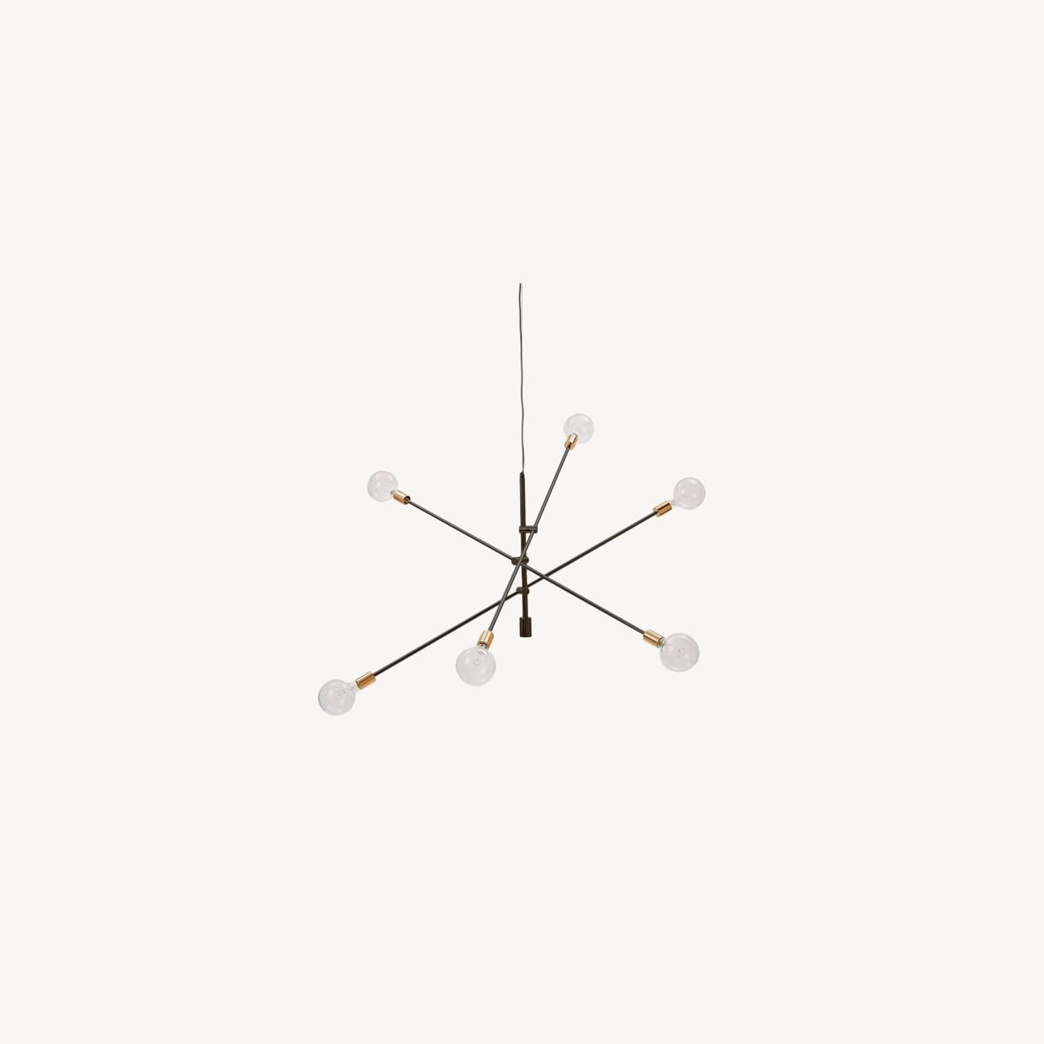 """West Elm Mobile Chandelier, 55"""", Two-Tone - image-0"""