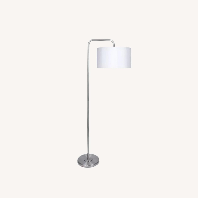 Wayfair White Floor Lamps (set of 2) - image-0