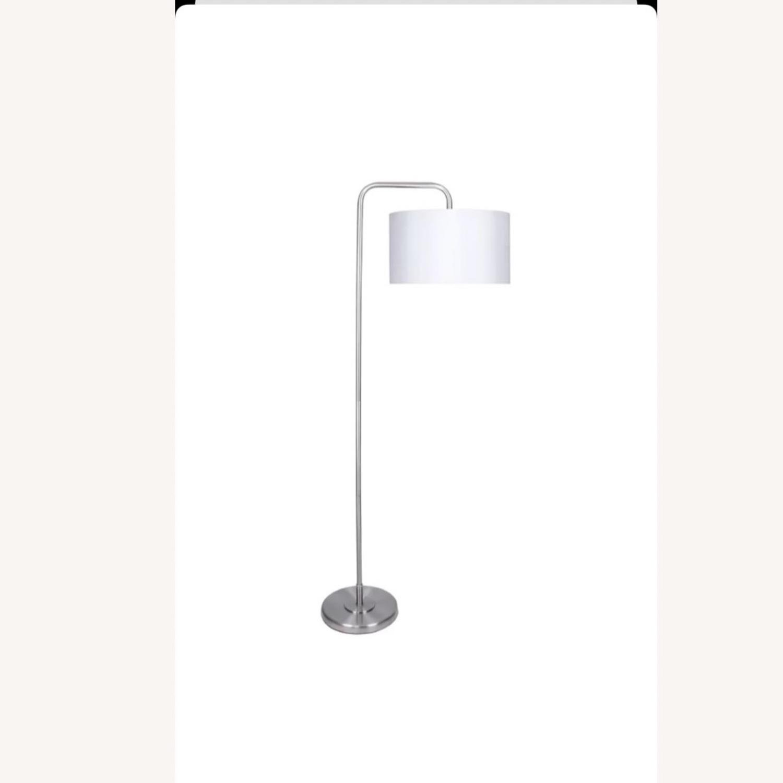Wayfair White Floor Lamps (set of 2) - image-2