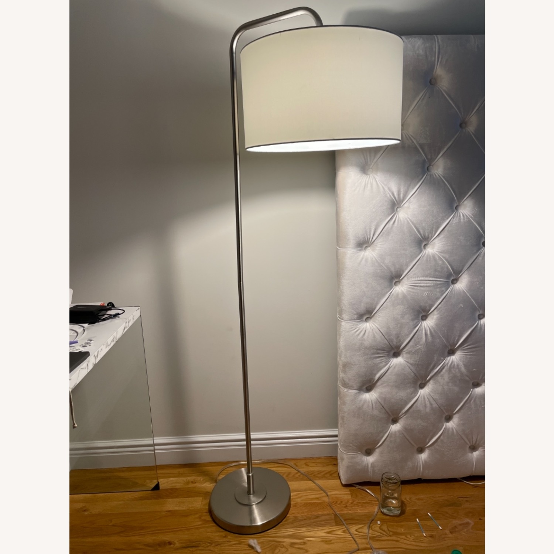 Wayfair White Floor Lamps (set of 2) - image-1