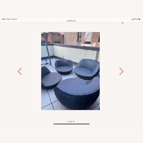 Used Modani Outdoor Round Seats for sale on AptDeco