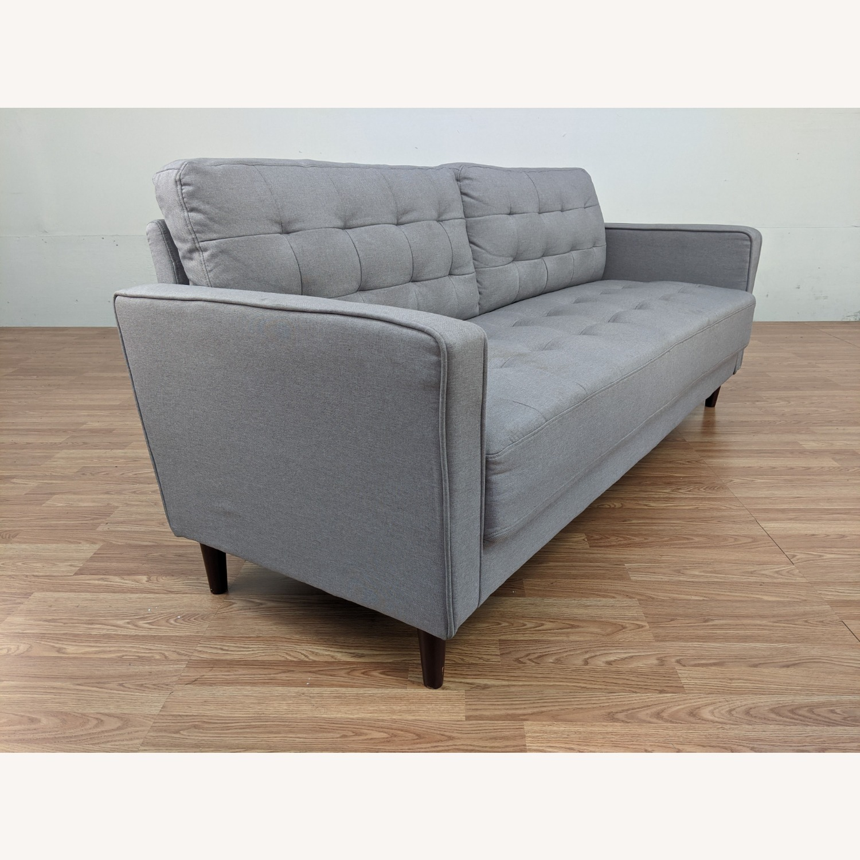 Zinus Gray Upholstered Sofa - image-5