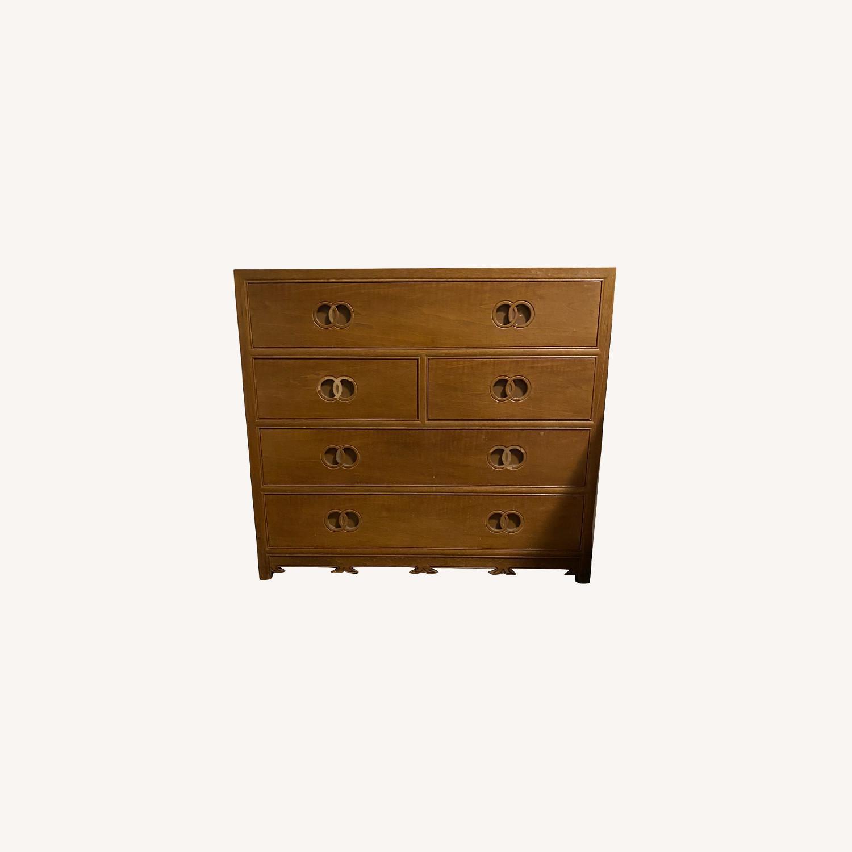 Vintage Bakers Furniture Dresser/Bed Side Table - image-0
