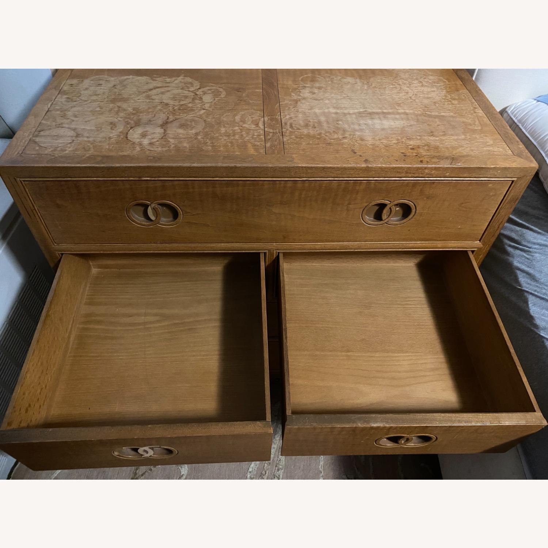 Vintage Bakers Furniture Dresser/Bed Side Table - image-9